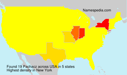 Surname Pachacz in USA