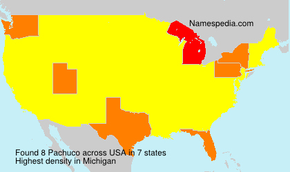 Surname Pachuco in USA