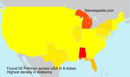 Pahman - USA