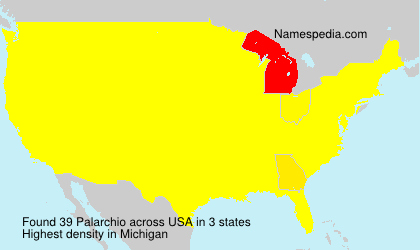 Surname Palarchio in USA