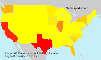 Surname Palash in USA