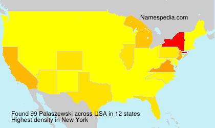 Surname Palaszewski in USA