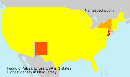 Surname Palcza in USA