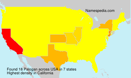Surname Palogan in USA