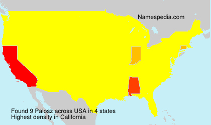Surname Palosz in USA