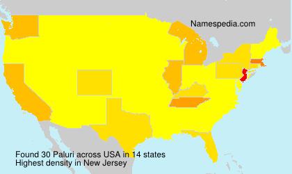 Surname Paluri in USA