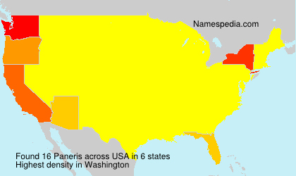 Surname Paneris in USA