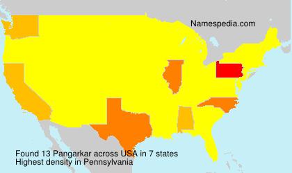Surname Pangarkar in USA