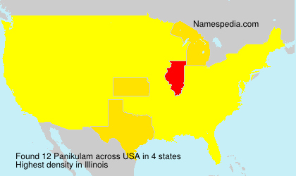 Surname Panikulam in USA