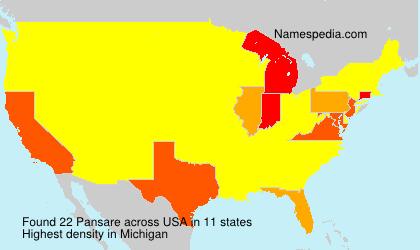Pansare - USA