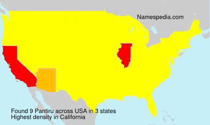 Pantiru - USA