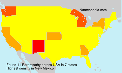 Surname Paramsothy in USA