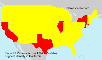 Surname Parania in USA