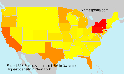 Surname Pascuzzi in USA