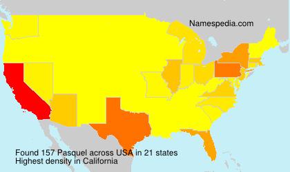 Surname Pasquel in USA