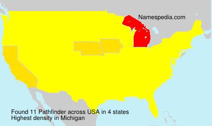 Familiennamen Pathfinder - USA