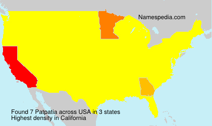Surname Patpatia in USA