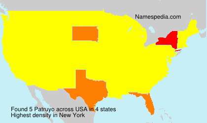 Surname Patruyo in USA