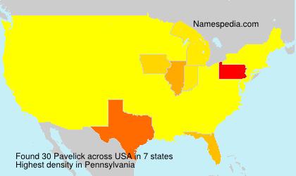 Pavelick - USA