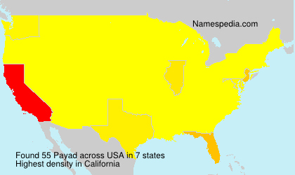 Surname Payad in USA