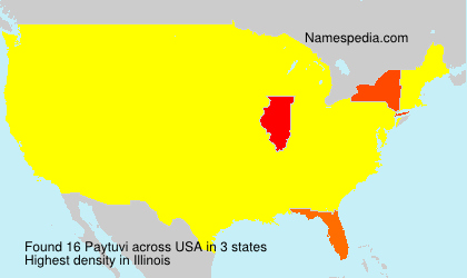 Surname Paytuvi in USA