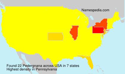 Pedergnana - USA