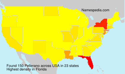 Surname Pellerano in USA