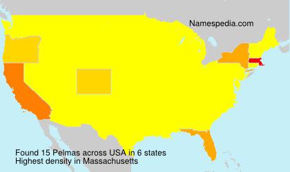 Surname Pelmas in USA