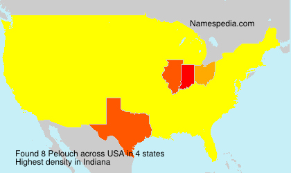 Surname Pelouch in USA