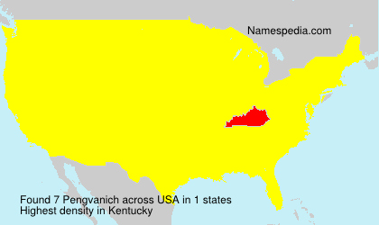 Surname Pengvanich in USA
