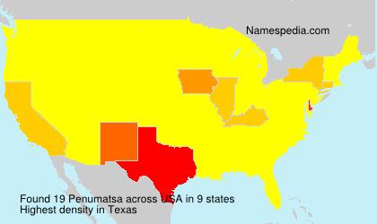Surname Penumatsa in USA