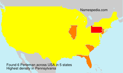 Surname Perleman in USA
