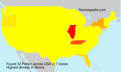 Surname Perlen in USA