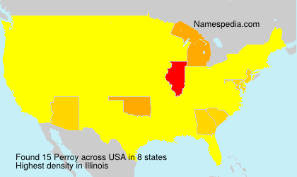 Surname Perroy in USA