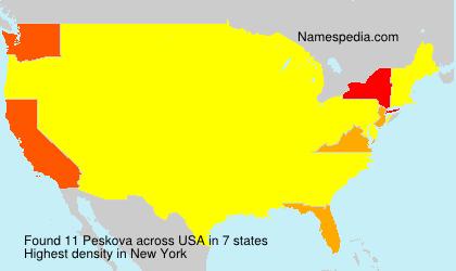 Peskova