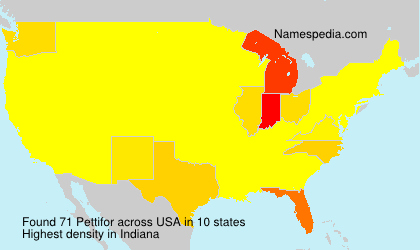 Surname Pettifor in USA