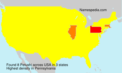 Surname Petushi in USA