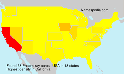 Surname Phabmixay in USA