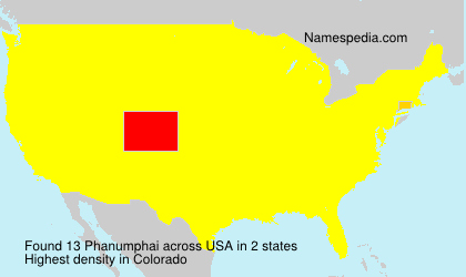 Surname Phanumphai in USA