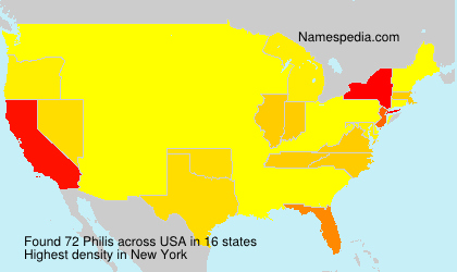 Surname Philis in USA