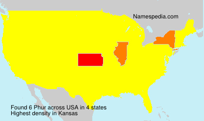 Surname Phur in USA