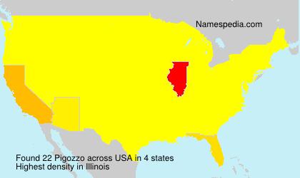 Surname Pigozzo in USA