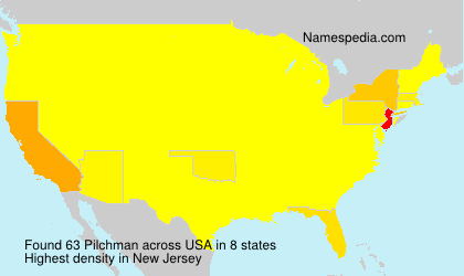 Surname Pilchman in USA