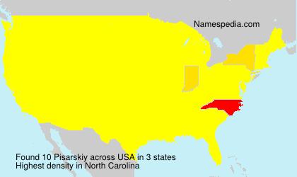 Surname Pisarskiy in USA