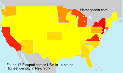 Surname Pisupati in USA