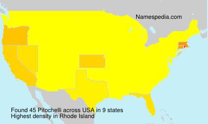 Surname Pitochelli in USA