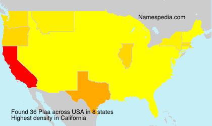 Plaa - USA