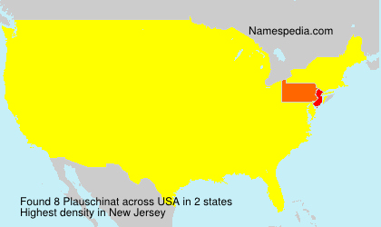 Surname Plauschinat in USA