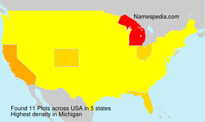 Surname Plots in USA