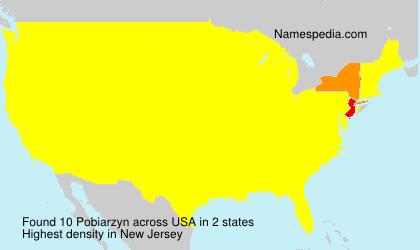 Surname Pobiarzyn in USA